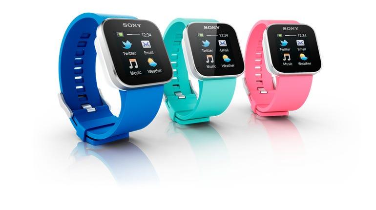 2012 Sony Smartwatch