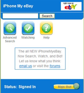 iPhone My eBay