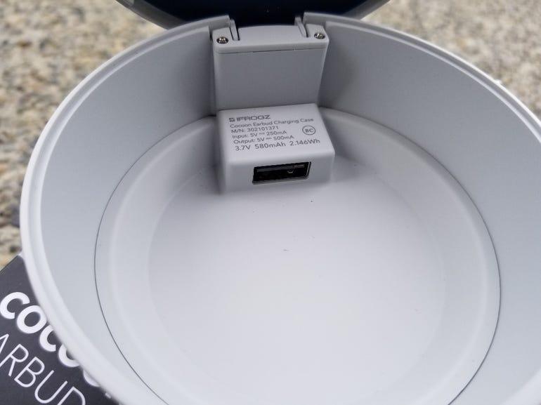 USB-A port inside