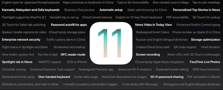 iOS 11 has a big problem, and we are to blame for it