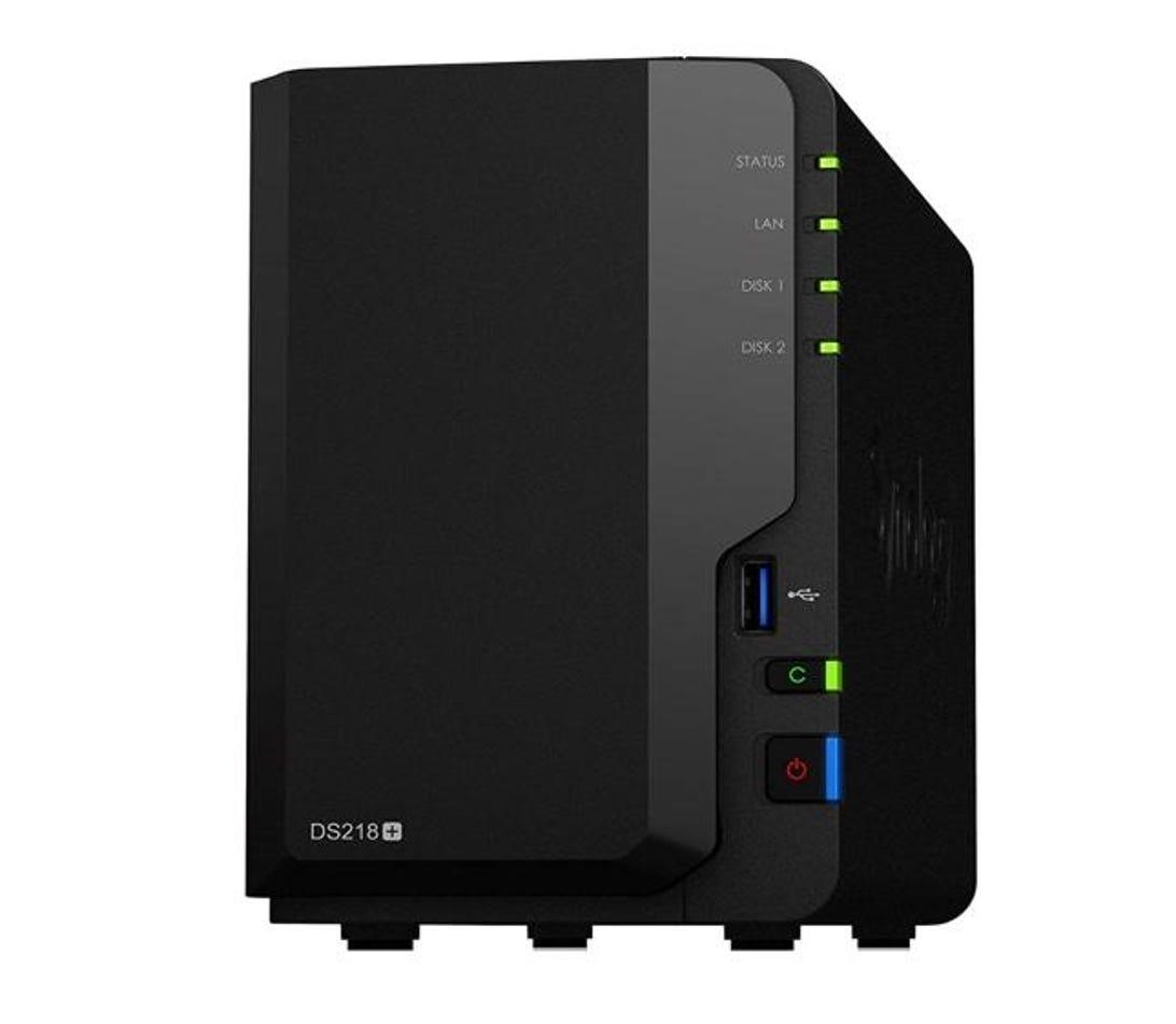 Synology DS218+ 2 Bay Desktop NAS Enclosure