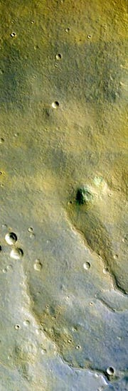 First color picture of Mars