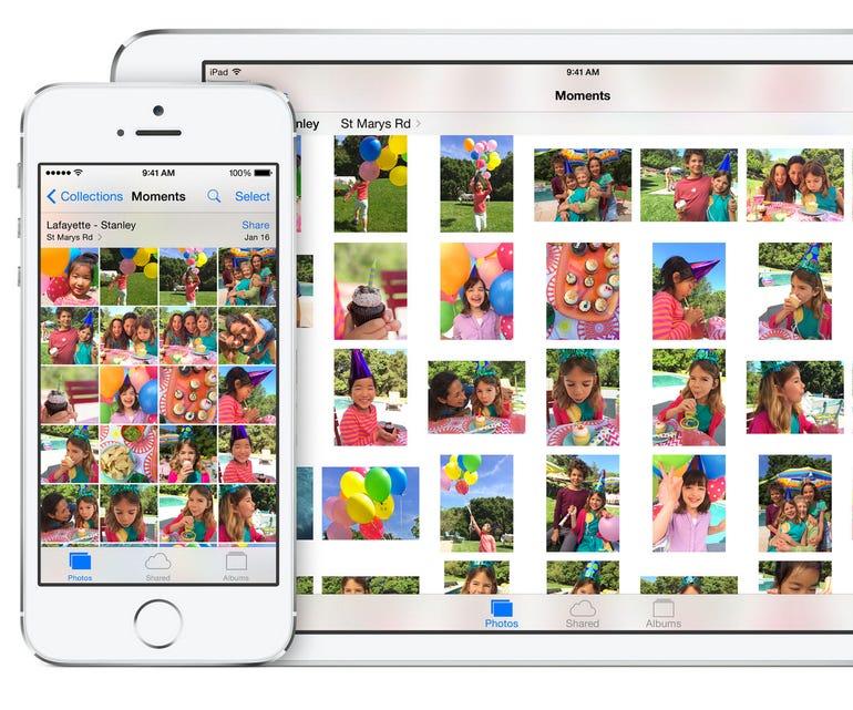 iOS 8's iCloud Photos