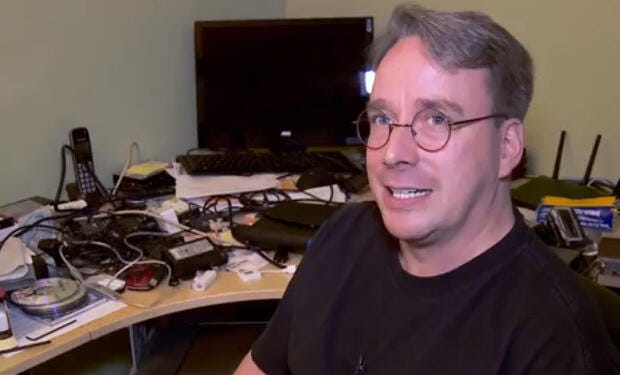 Linux's Linus Torvalds