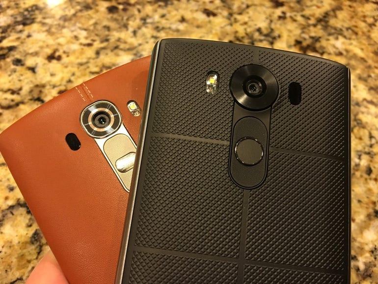 LG V10 on the LG G4