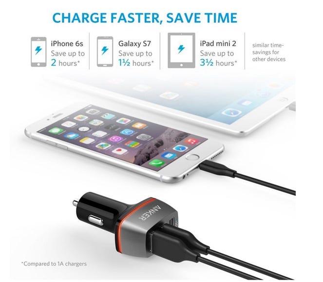 In-car charging