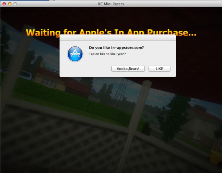 Apple Mac in-app purchases hacked, just like iOS