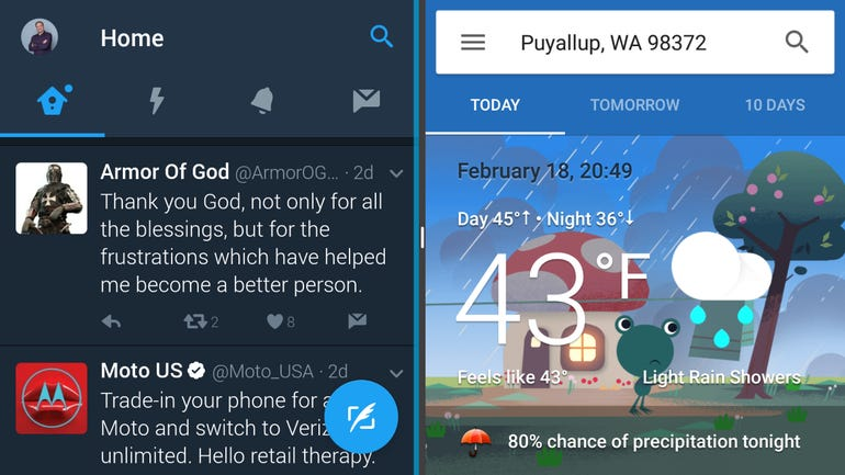 An improved multi-window experience