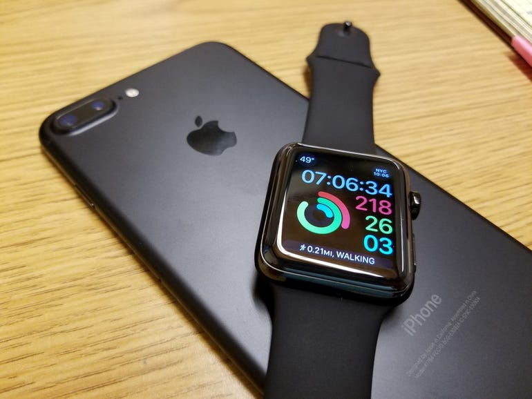 Apple Watch Series 2 and iPhone 7 Plus