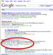 Is Microsoft tinkering with Live Search results?