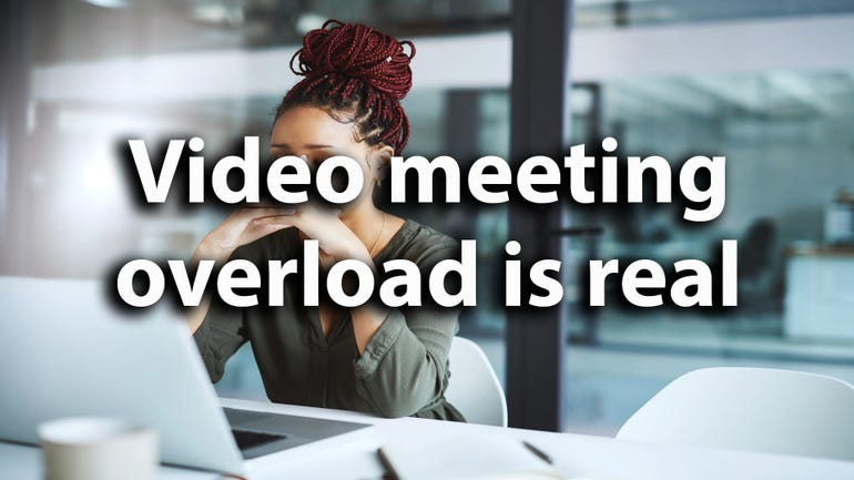 Back-to-back video meetings are making you stressed, says Microsoft