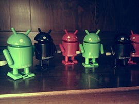 Here comes the Android army!