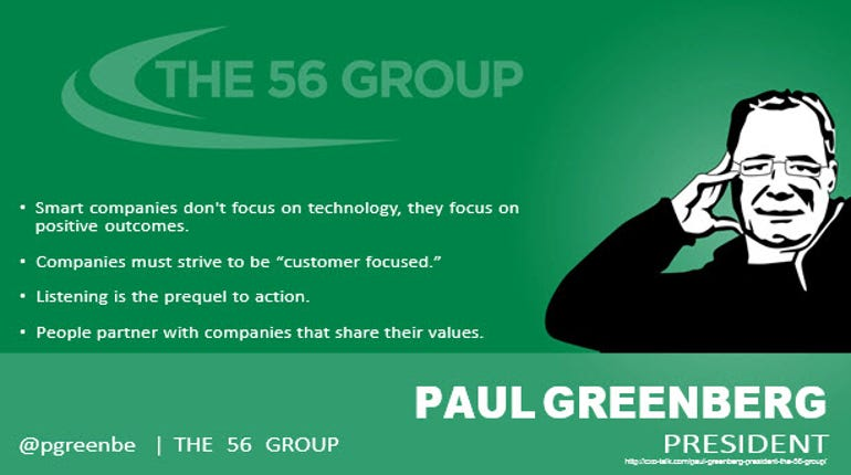 Paul Greenberg, Analyst