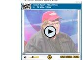 Michael Moore on Colbert screen grab