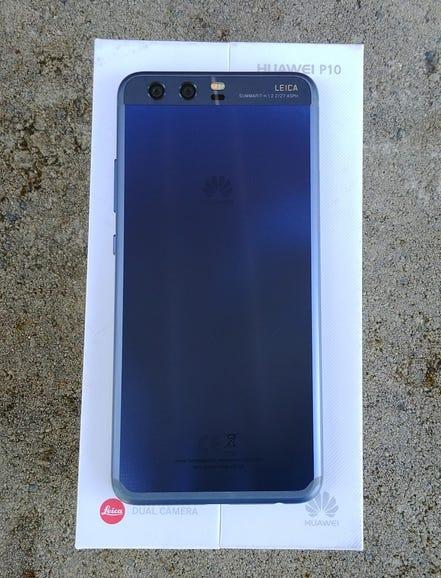 Huawei P10 retail package