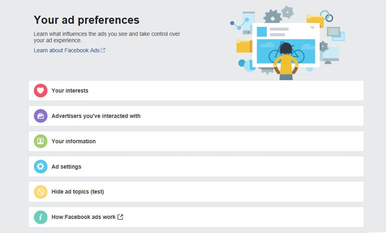 Ad preferences