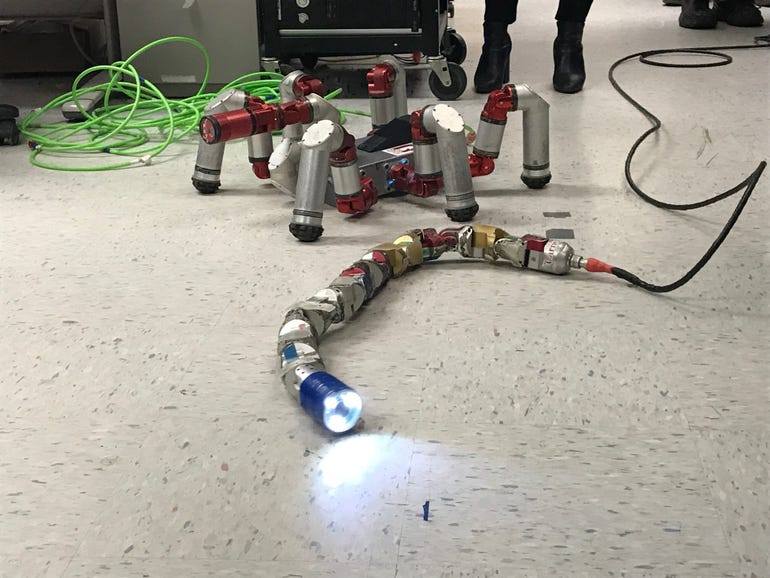 Howie Choset's snake robot