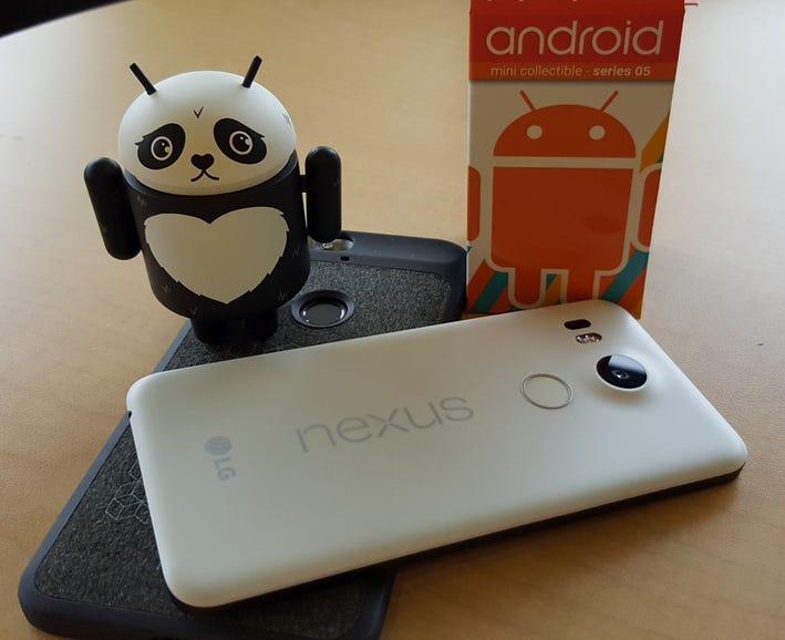 Nexus 5X on Nexus 6P