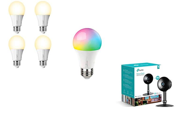 Smart lighting, plug, and security deals