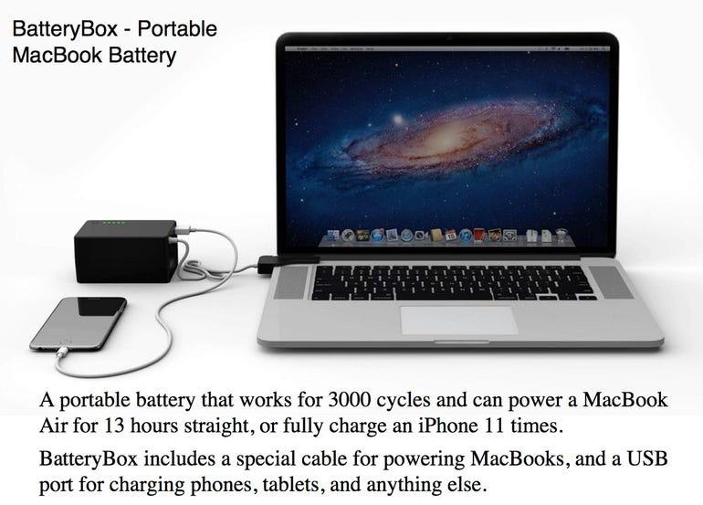 BatteryBox - Portable MacBook Battery
