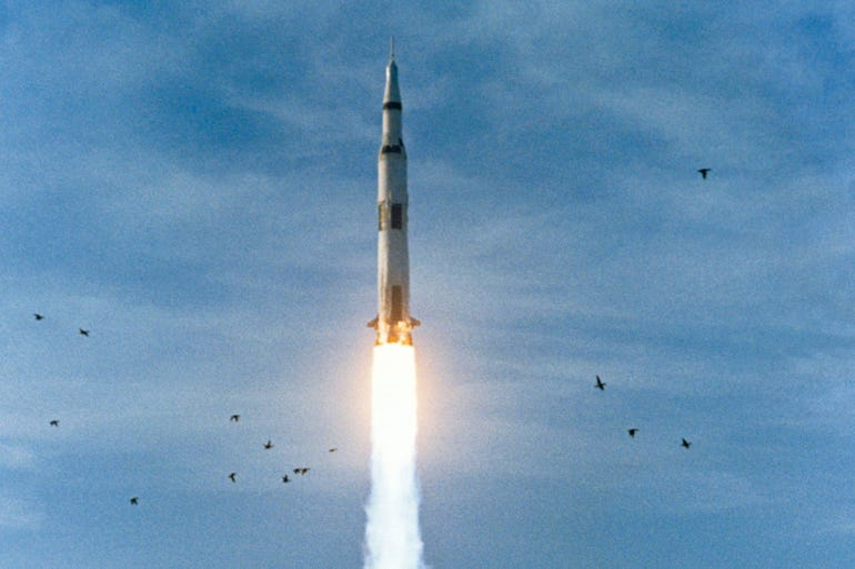 1968: The launch of Apollo 8