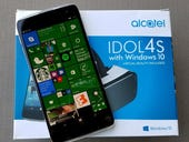 Alcatel Idol 4S with Windows 10 review: $288 for a compelling business smartphone