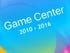Bring back Game Center