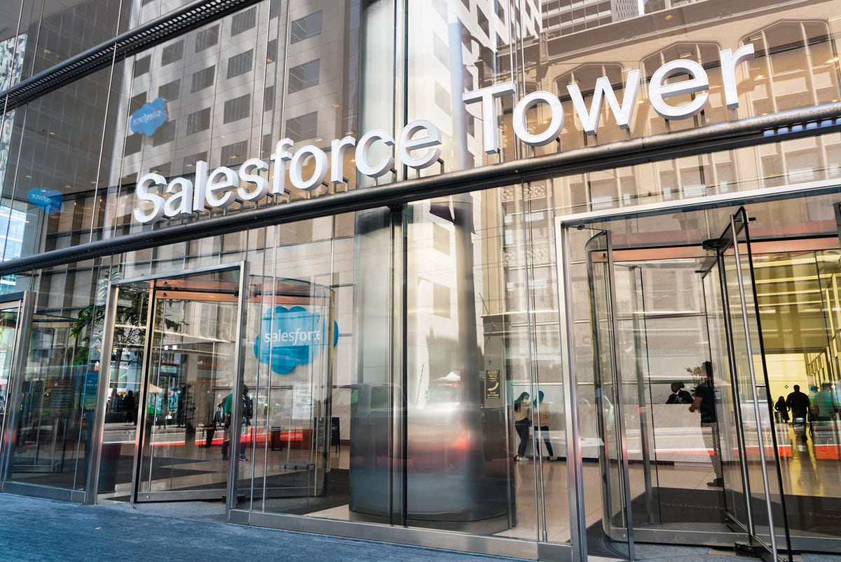Salesforce Tower entrance, San Francisco