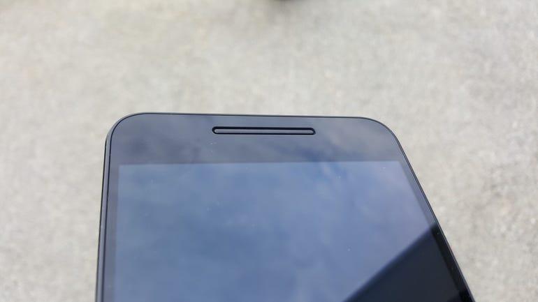 Lower front of the Nexus 6P