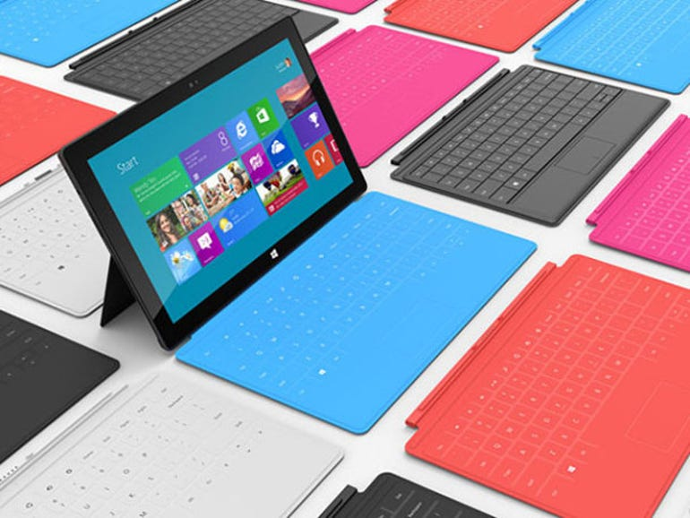 MSFT Surface tablet