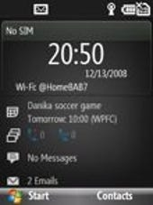 Image Gallery: S740 Home screen