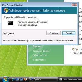 UAC without Secure Desktop