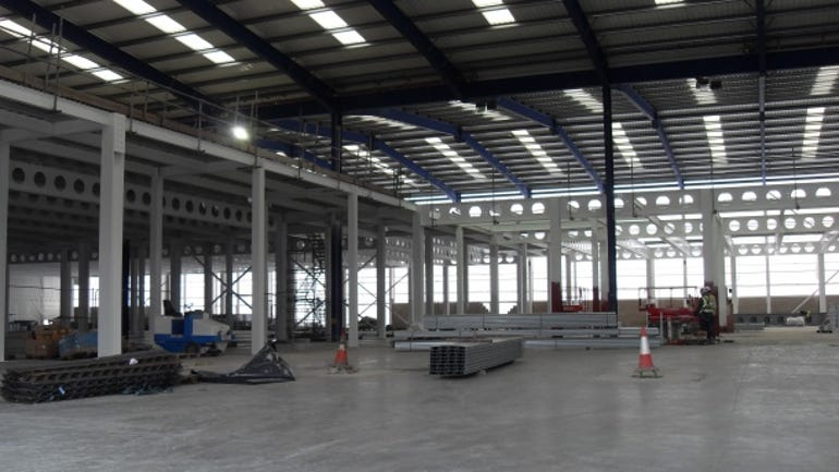 Telecity datacentre in construction