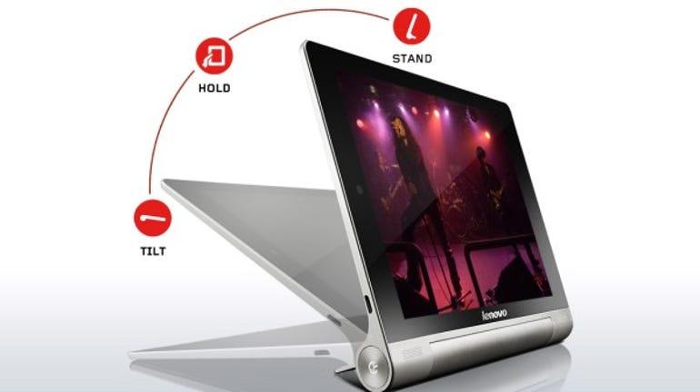 lenovo tablet yoga 8 front side modes
