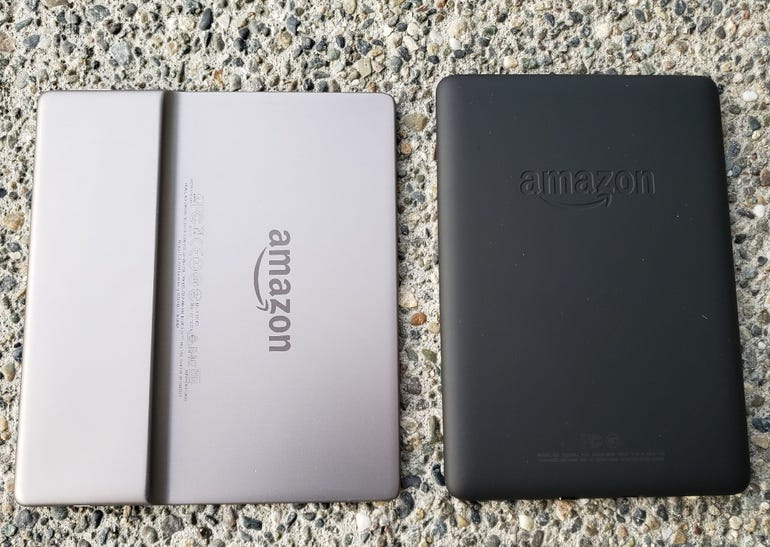 Kindle Oasis and Paperwhite