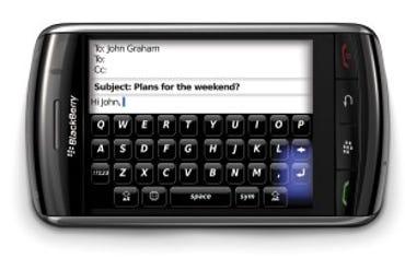 BlackBerry Storm - horizontal