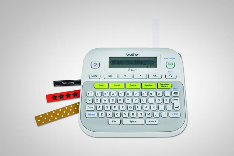Brother P-touch Label Maker (around $35)