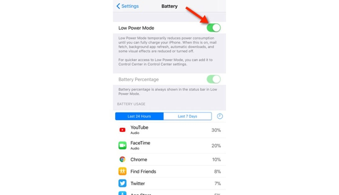 How to switch to Low Power Mode