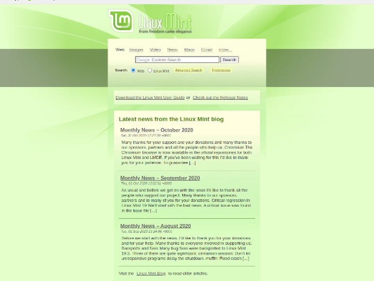 Linux Mint introduces its own take on the Chromium web browser | ZDNet