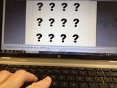 Keyboard and question marks 2 by Joe McKendrick