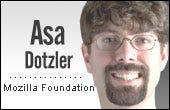 Asa Dotzler, Mozilla Foundation