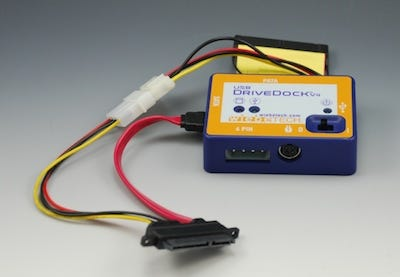 WiebeTechÂ's USB DriveDock v.4