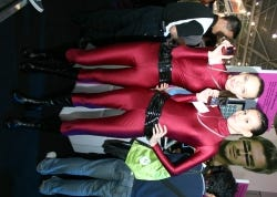 Motorola's maroon cadets
