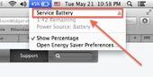 The dreaded Service Battery warning - Jason O'Grady