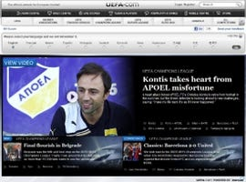 Uefa website