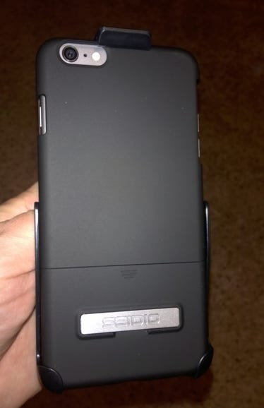 Back of the Seidio Surface