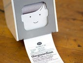 Little Printer, with its Guardian publication