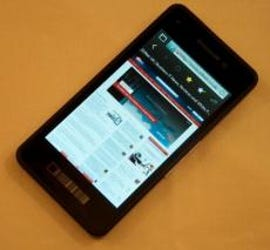 blackberry 10 security government certification