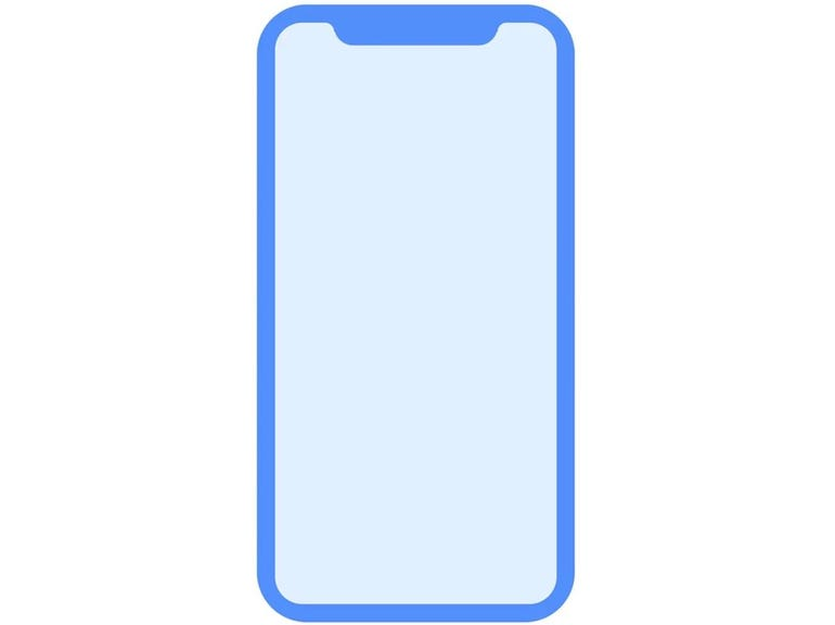 Apple leaks the design of the next iPhone