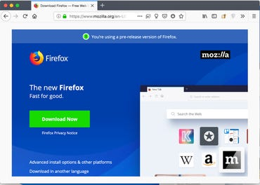 Firefox gray spaces